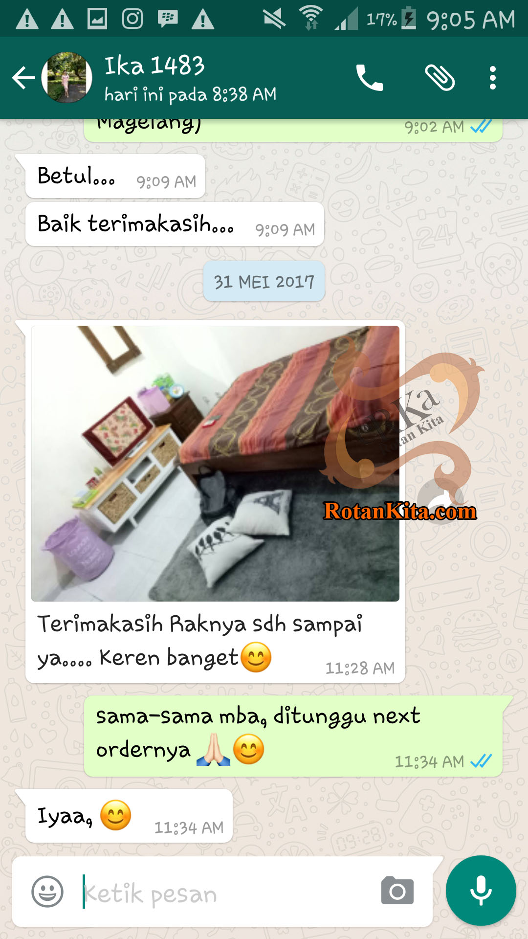 testimoni ika 1483 copy Testimoni Customer