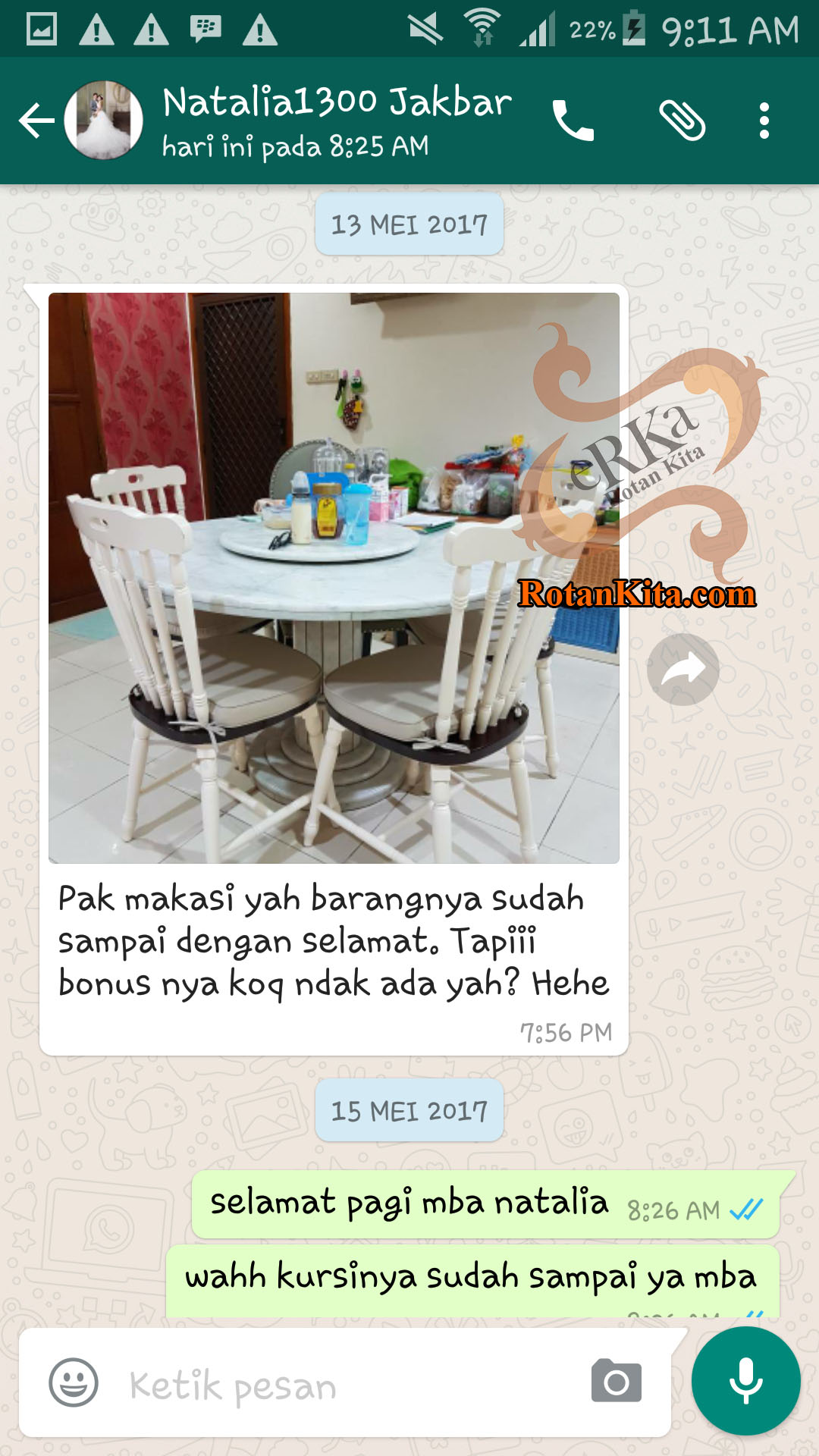 testimoni natalia copy Testimoni Customer