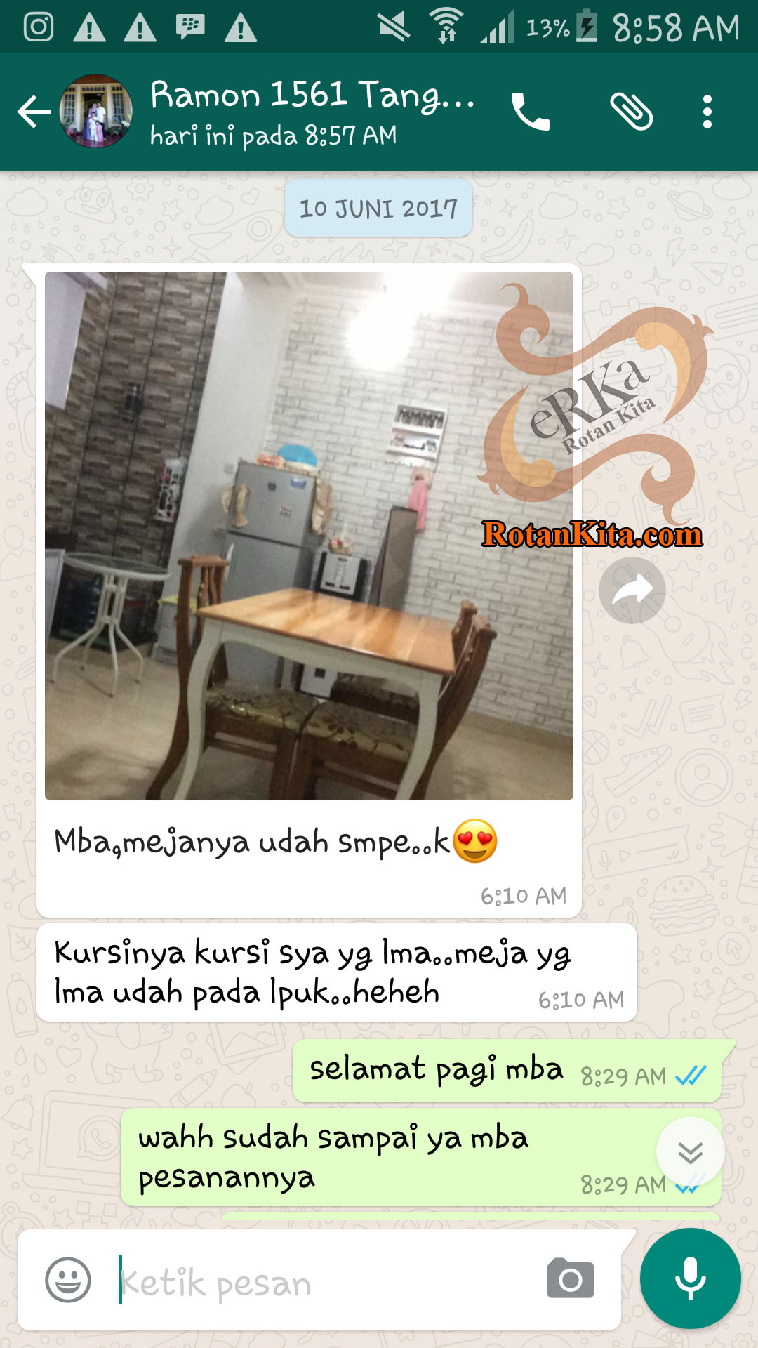 testimoni ramon copy Testimoni Customer
